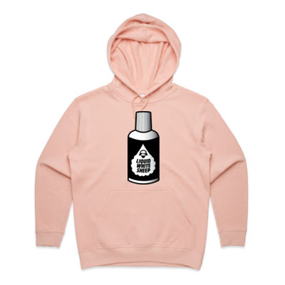 LIQUID WHITE SHEEP WOMENS HOODIE Thumbnail