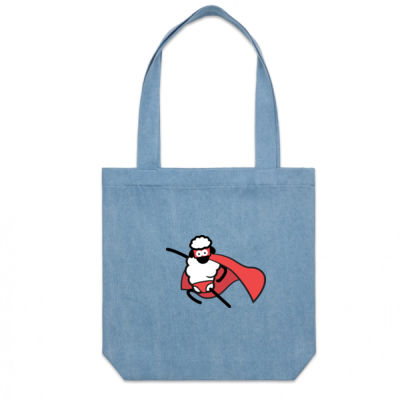 SUPERPOWER DENIM CARRY BAG Thumbnail