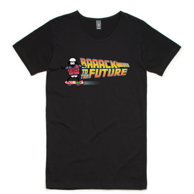 BAAACK TO THE FUTURE MENS TEE Thumbnail
