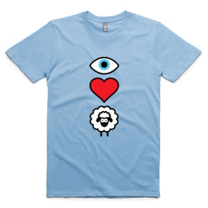 EYE HEART EWE MENS TEE Thumbnail